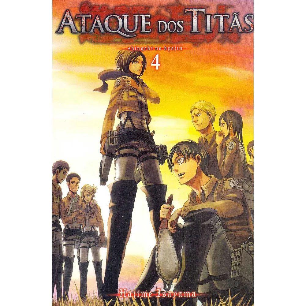 Ataque dos Titãs / Shingeki no Kyojin - Volume 04 - Usado
