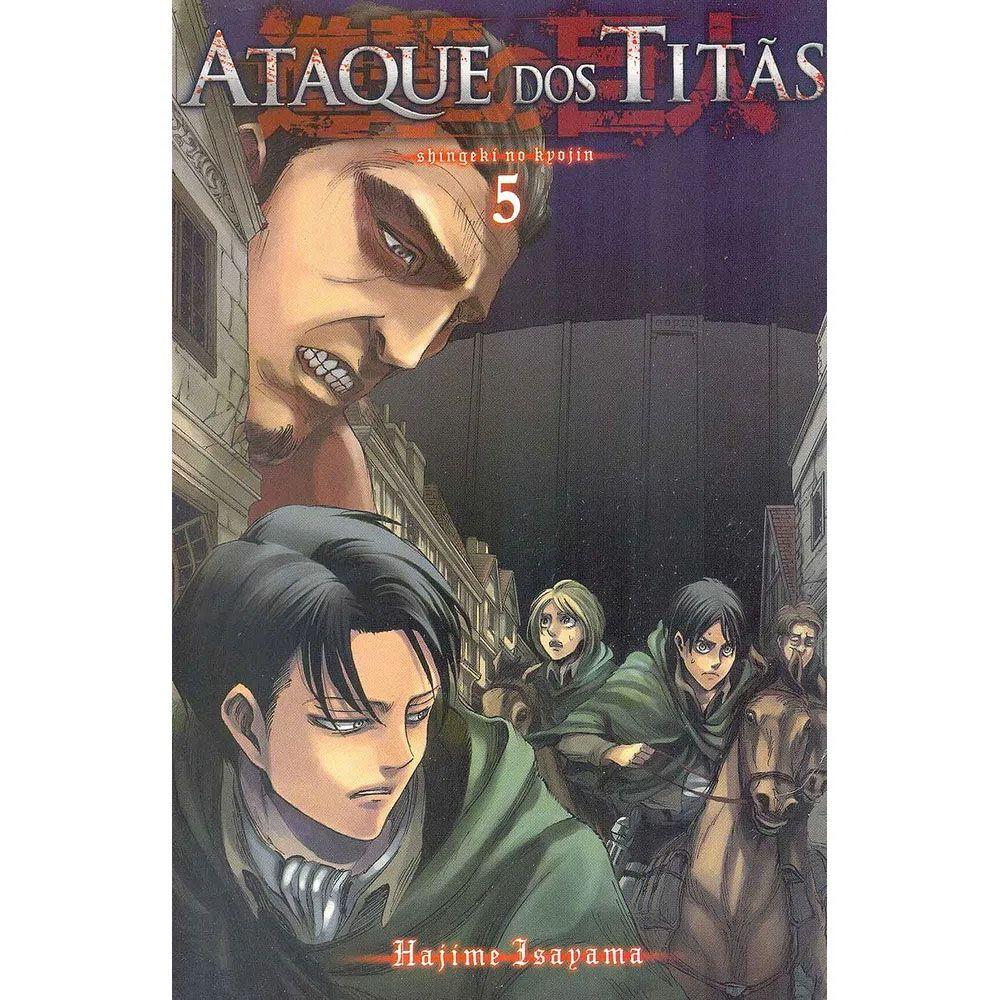 Ataque dos Titãs / Shingeki no Kyojin - Volume 05 - Usado