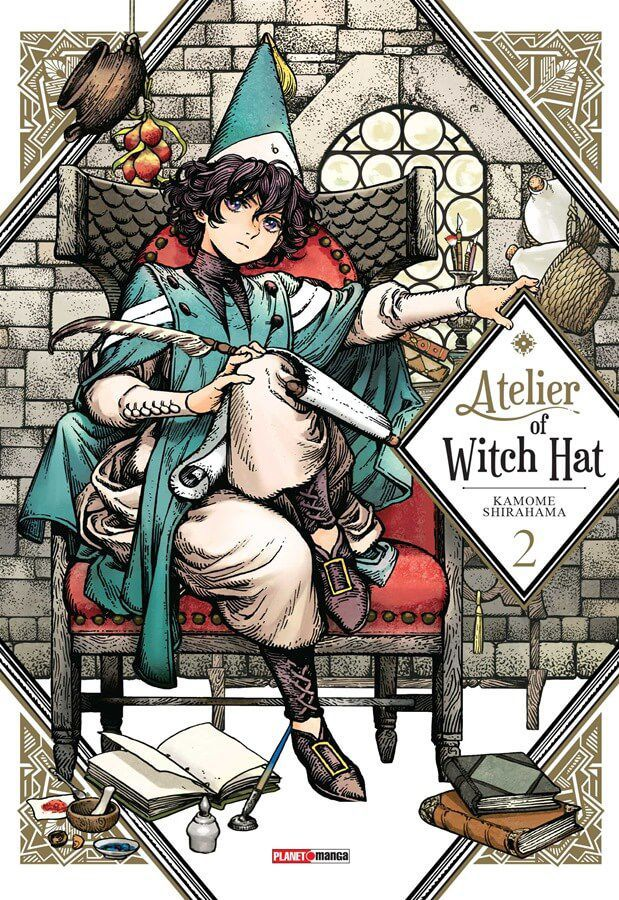Atelier of Witch Hat - Volume 02