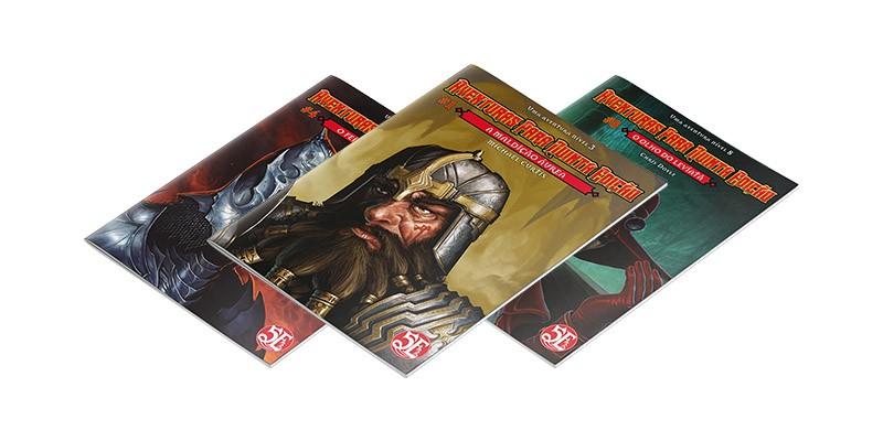 Aventuras para Quinta Edição - 1 ao 12 - Pack
