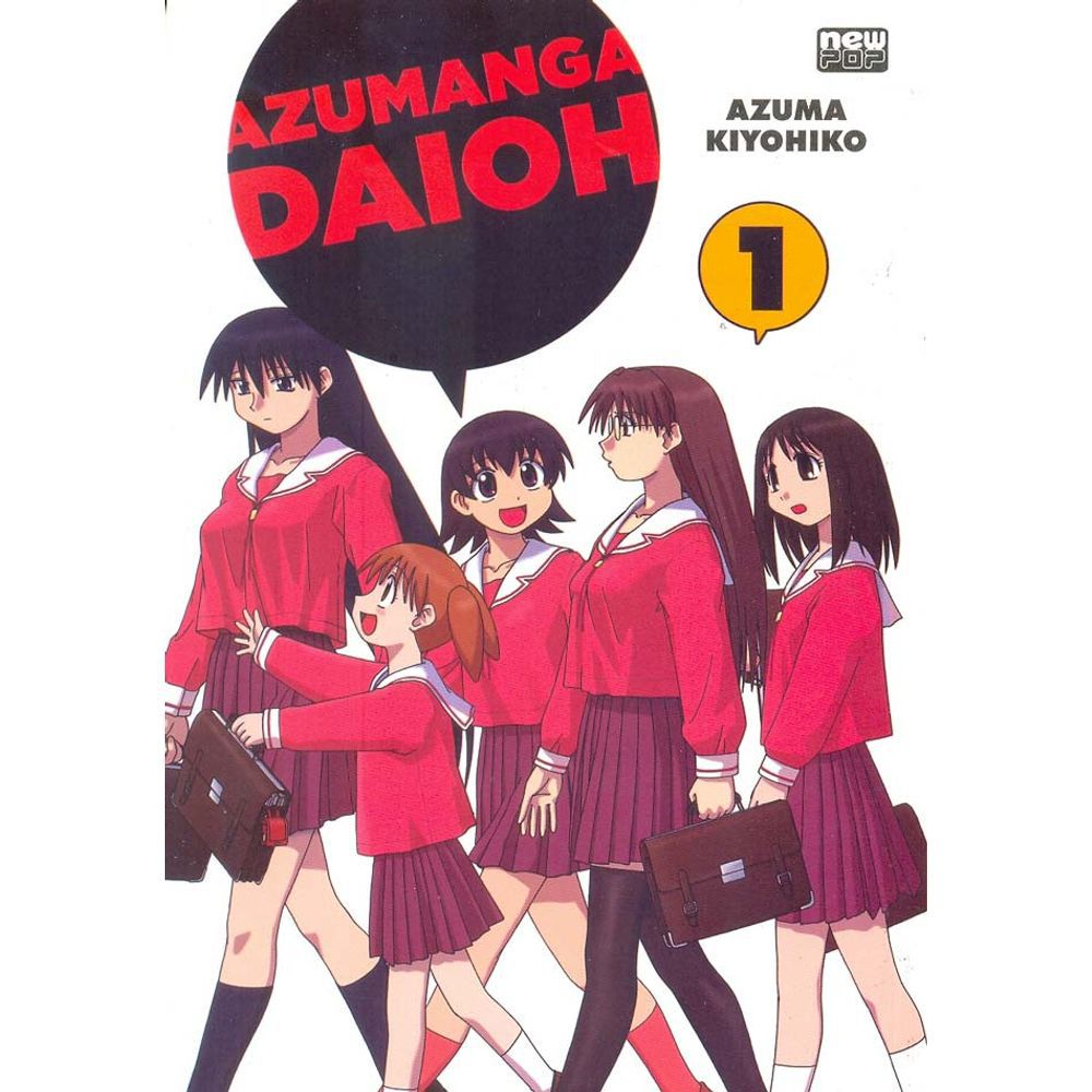 Azumanga Daioh - Volume 01 - Usado