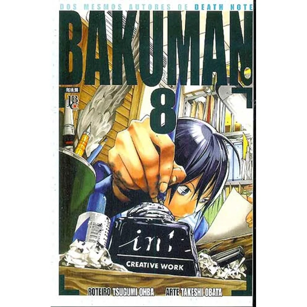 Bakuman - Volume 08 - Usado