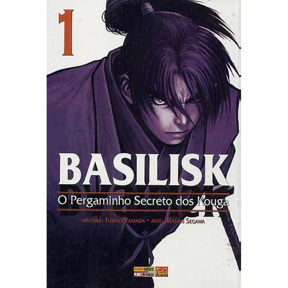 Basilisk O Pergaminho Secreto dos Kouga - Volume 01 - Usado