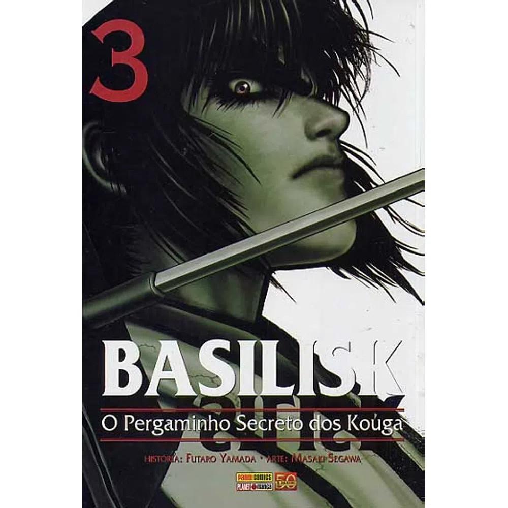 Basilisk O Pergaminho Secreto dos Kouga - Volume 03 - Usado
