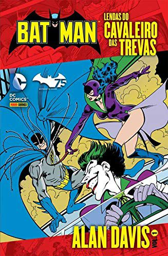 Batman Lendas do Cavaleiro das Trevas Alan Davis Volume 1