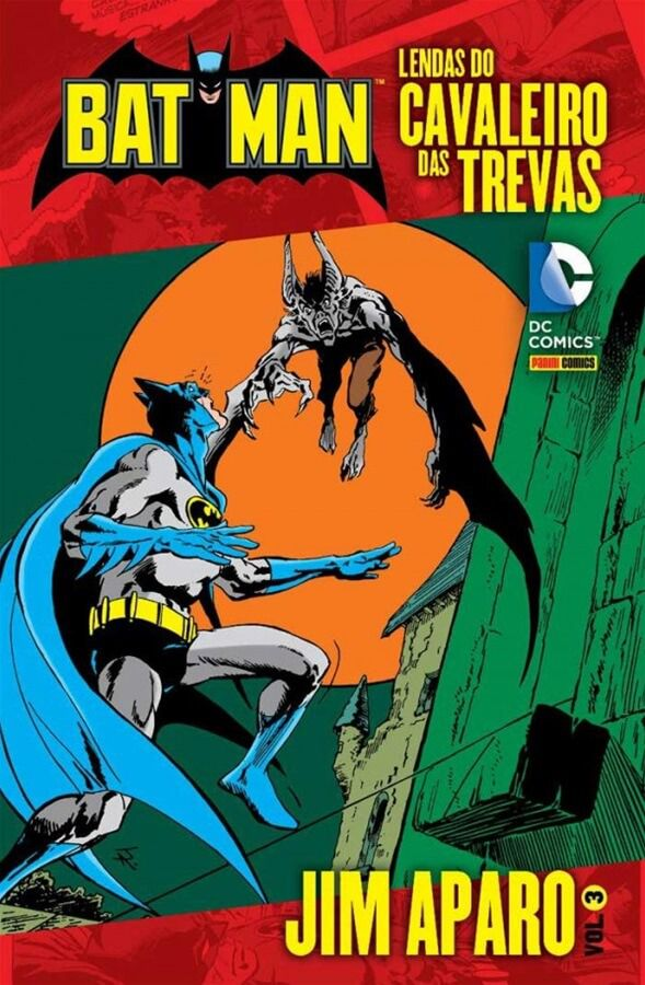 Batman Lendas do Cavaleiro das Trevas Jim Aparo Volume 3