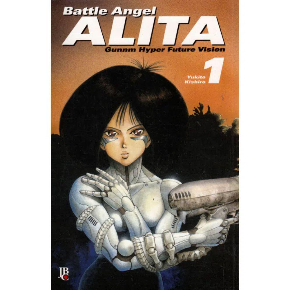Battle Angel Alita - Gunnm Hyper Future Vision - Volume 01 - Usado
