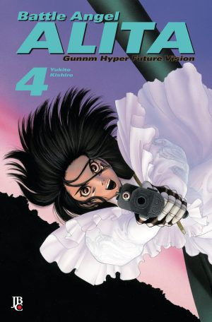 Battle Angel Alita - Gunnm Hyper Future Vision - Volume 04