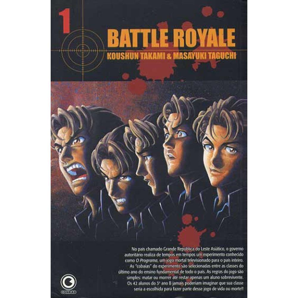 Battle Royale - Volume 01 - Usado