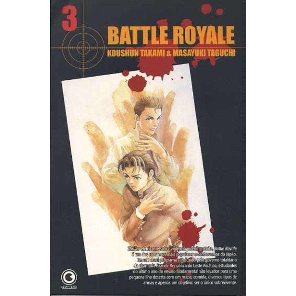 Battle Royale - Volume 03 - Usado