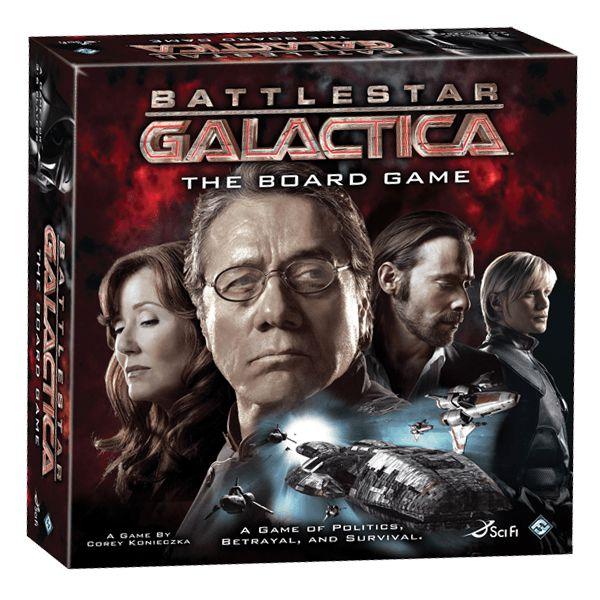 Battlestar Galactica - The Board Game - INGLÊS