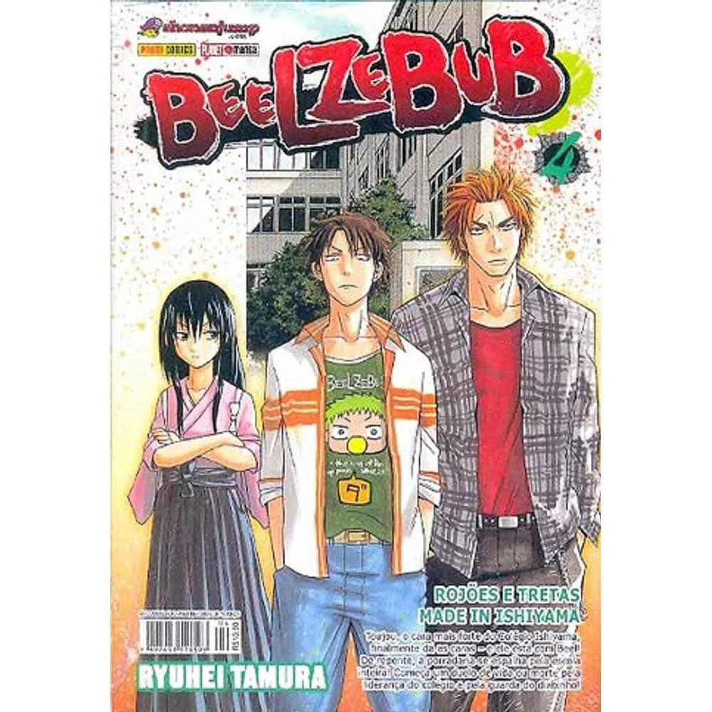 Beelzebub - Volume 04 - Usado