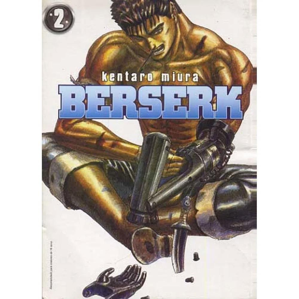 Berserk - 1ª Edição - Volume 02 - Usado
