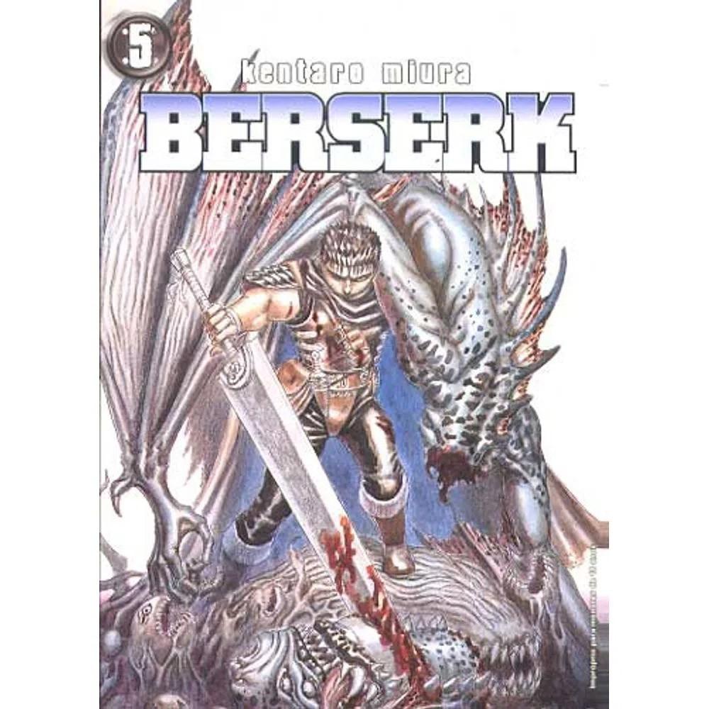 Berserk - 1ª Edição - Volume 05 - Usado