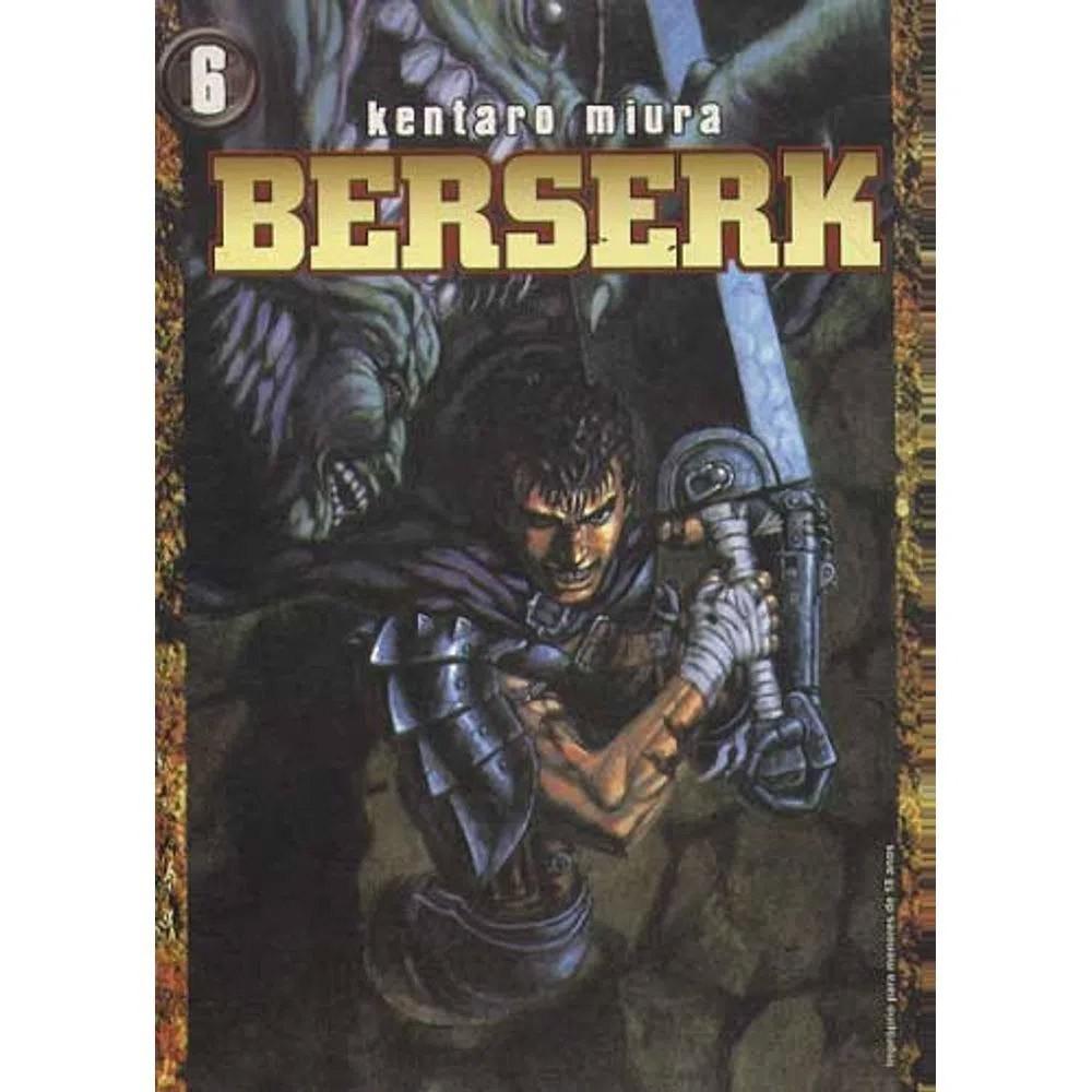Berserk - 1ª Edição - Volume 06 - Usado