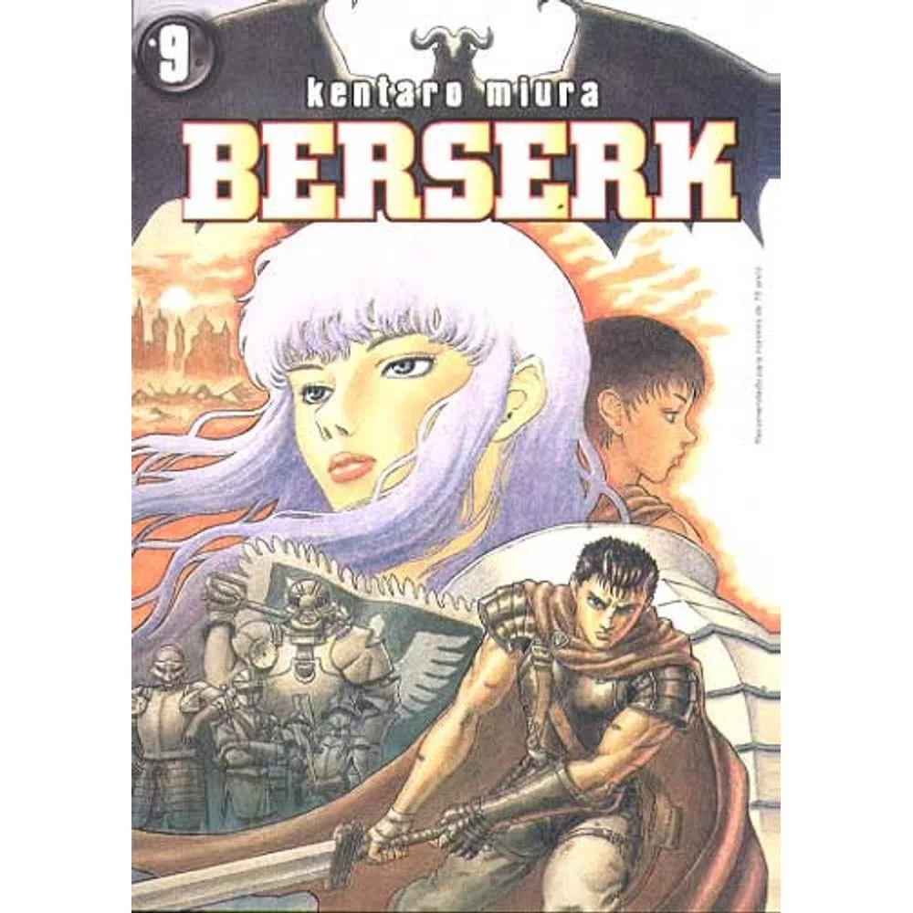 Berserk - 1ª Edição - Volume 09 - Usado