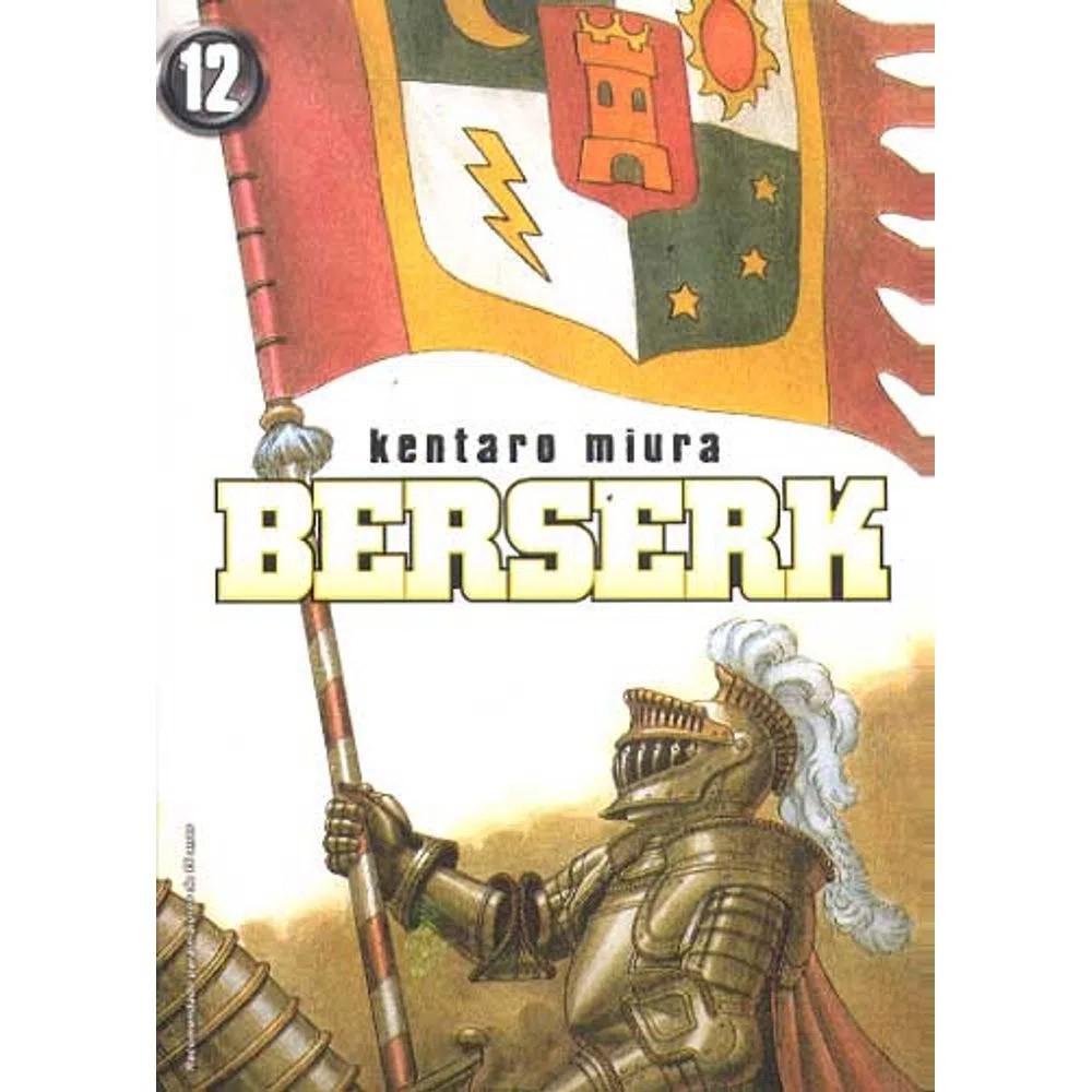 Berserk - 1ª Edição - Volume 12 - Usado
