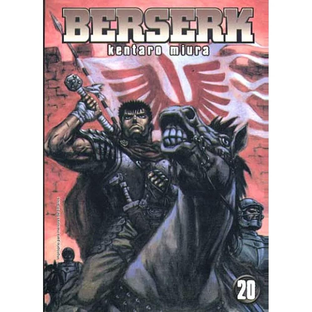 Berserk - 1ª Edição - Volume 20 - Usado
