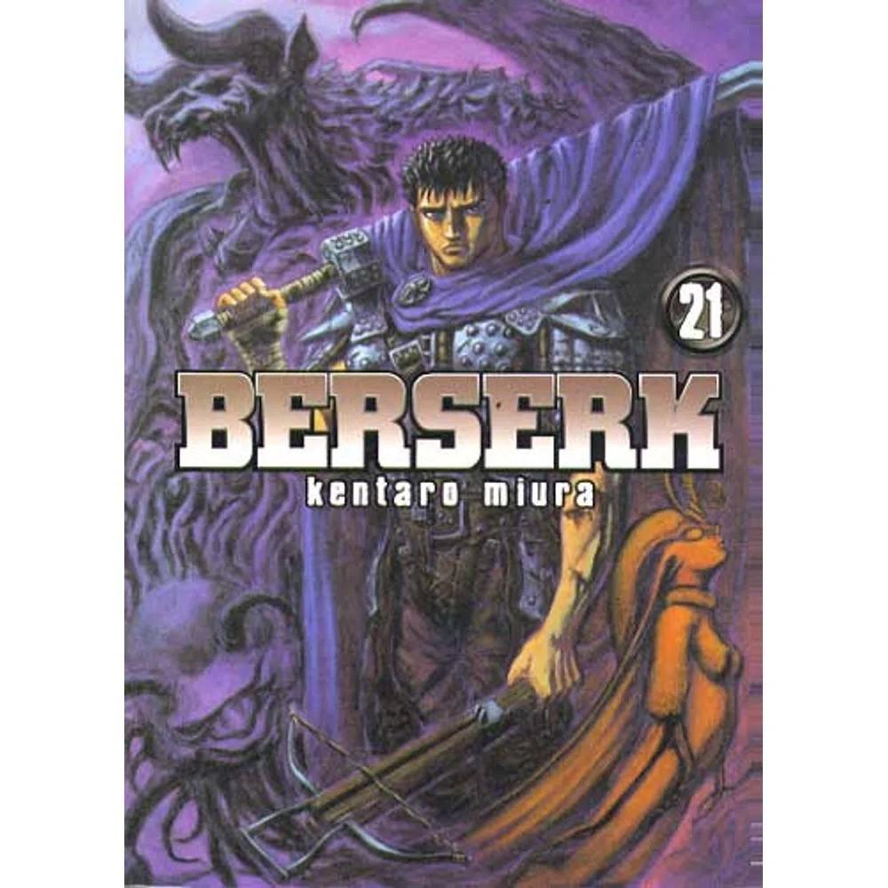 Berserk - 1ª Edição - Volume 21 - Usado
