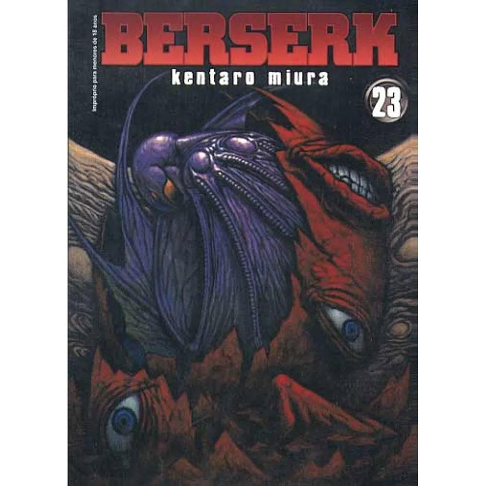 Berserk - 1ª Edição - Volume 23 - Usado