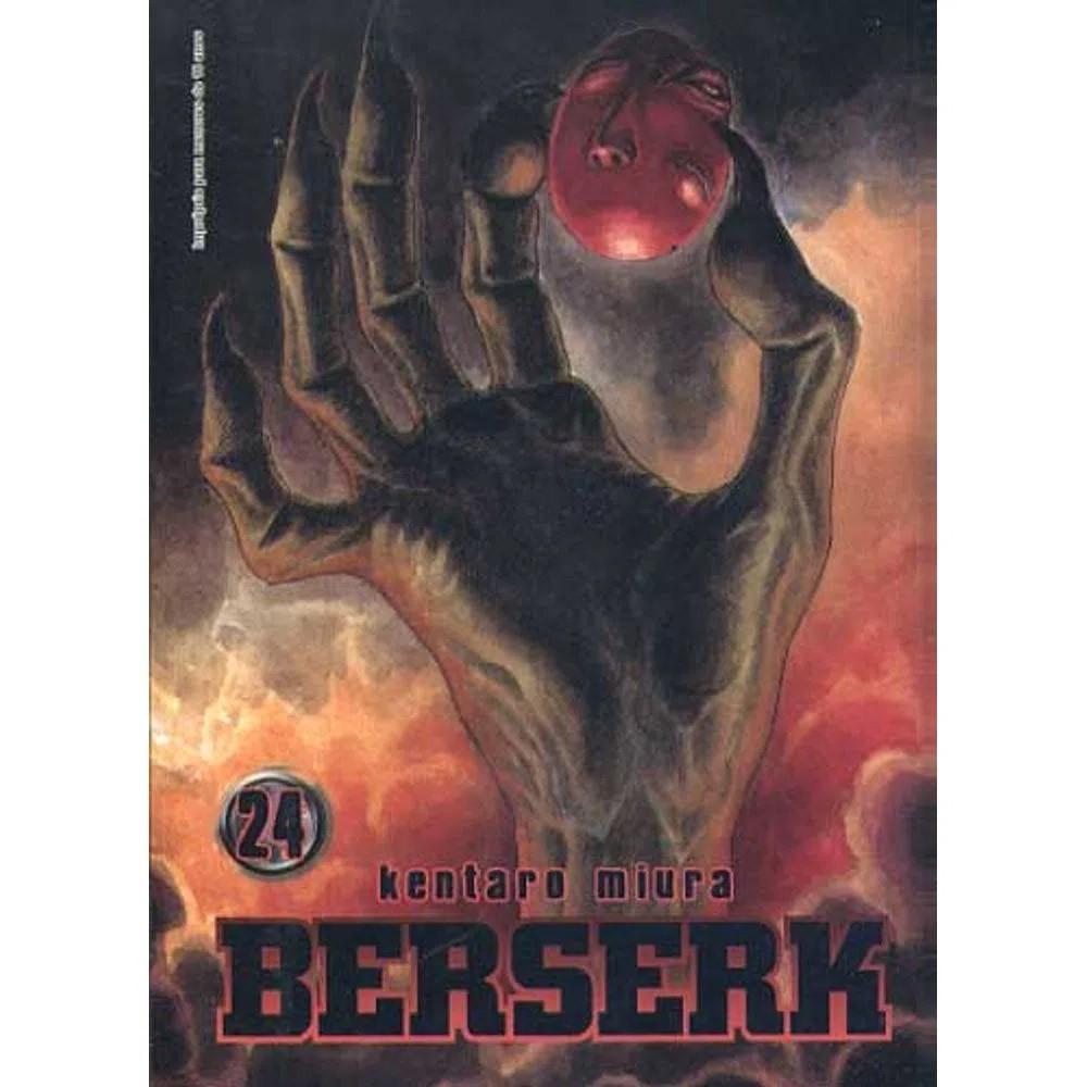 Berserk - 1ª Edição - Volume 24 - Usado