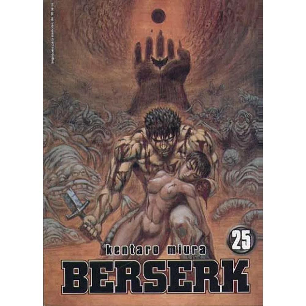Berserk - 1ª Edição - Volume 25 - Usado