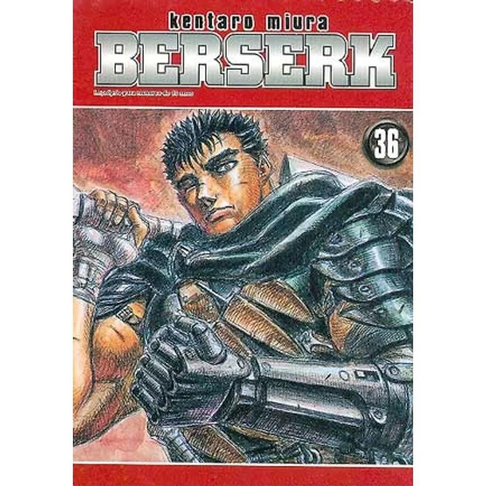 Berserk - 1ª Edição - Volume 36 - Usado