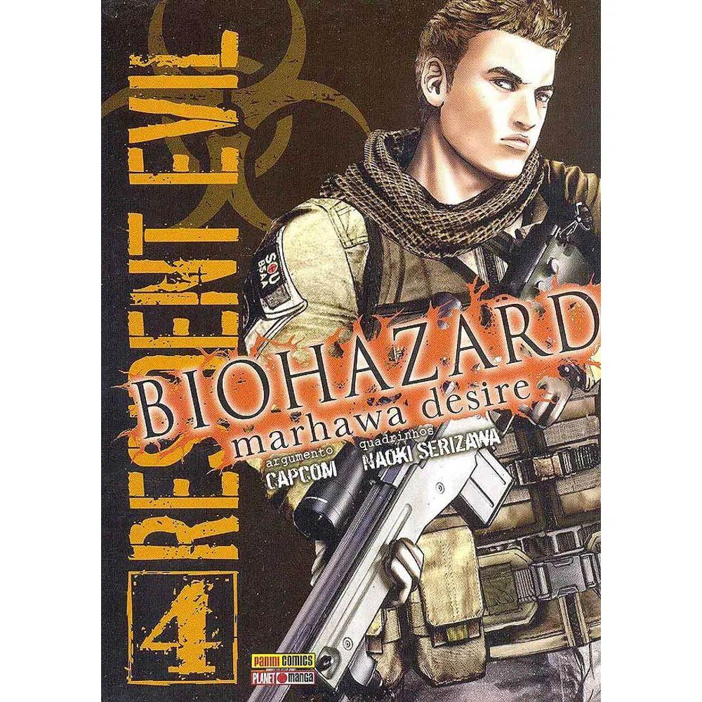 Biohazard Marhawa Desire - Resident Evil - Volume 04 - Usado