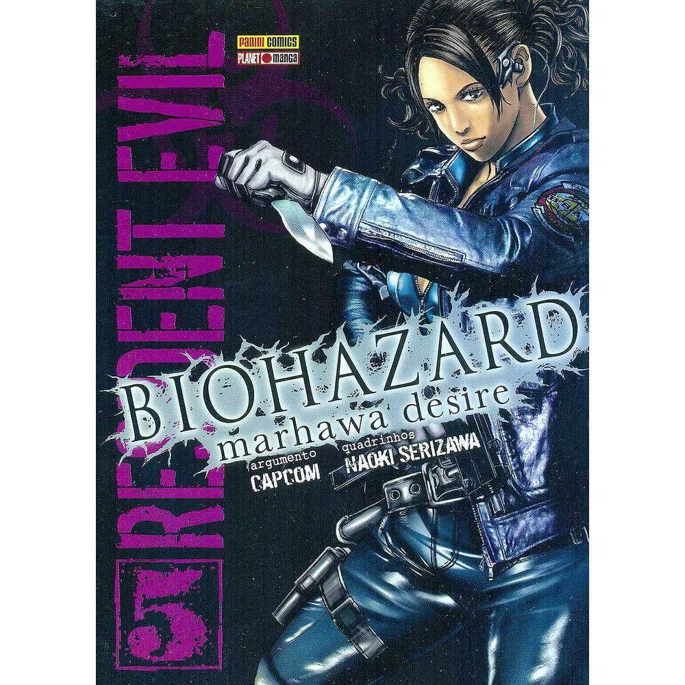 Biohazard Marhawa Desire - Resident Evil - Volume 05 - Usado