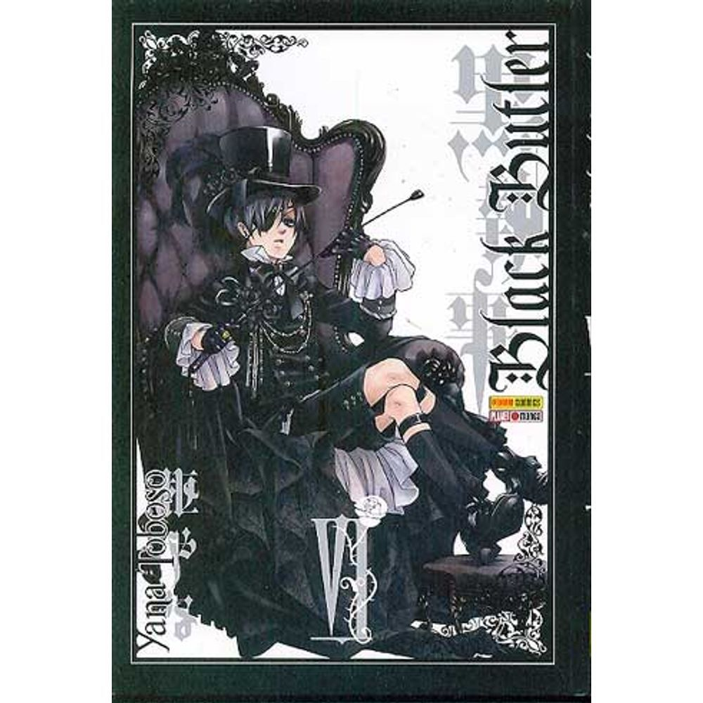 Black Butler - Volume 06 - Usado