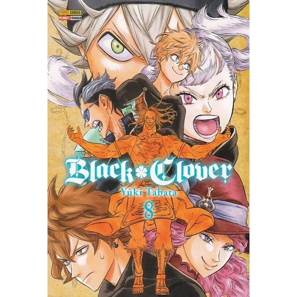 Black Clover - Volume 08 - Usado