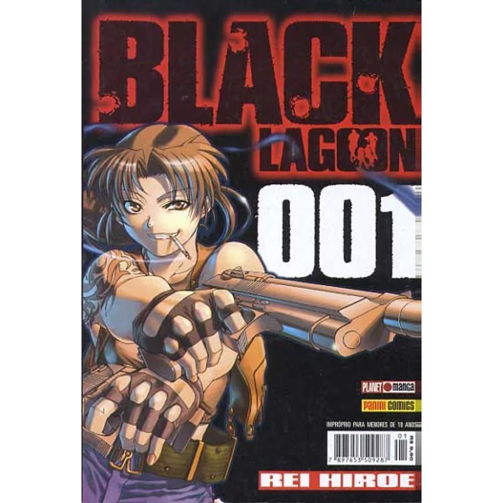 Black Lagoon - Volume 01 - Usado