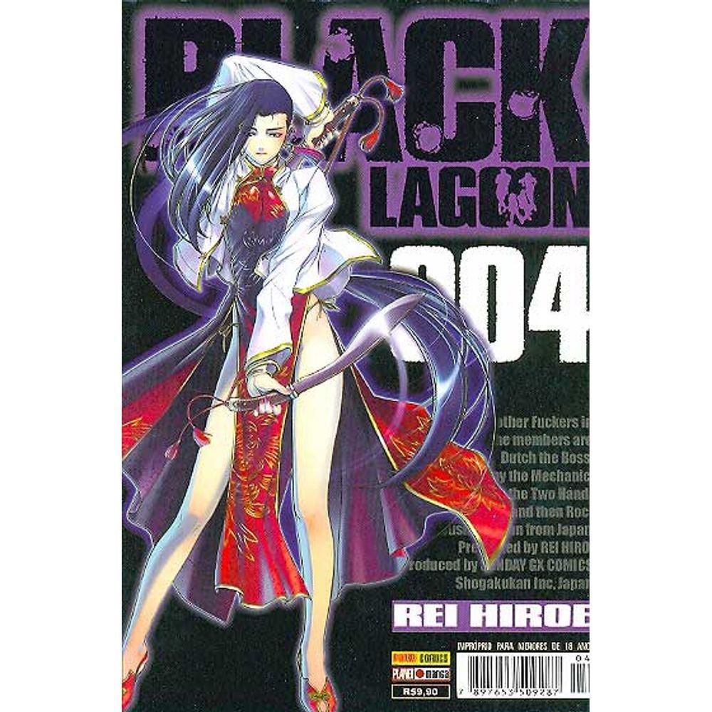 Black Lagoon - Volume 04 - Usado
