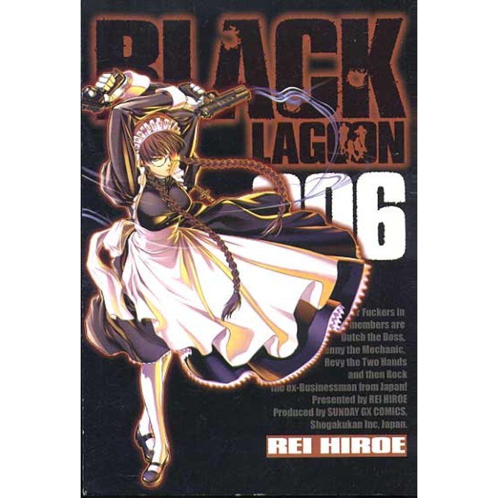 Black Lagoon - Volume 06 - Usado