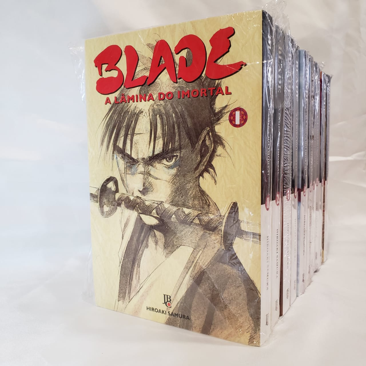 Blade A Lâmina do Imortal - 1 ao 10 - Pack