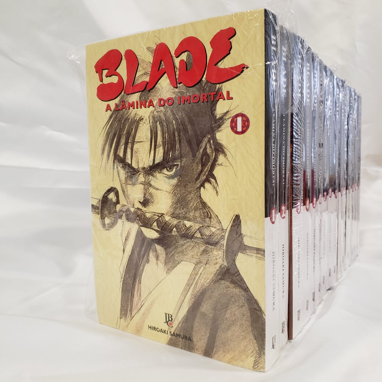 Blade A Lâmina do Imortal - 1 ao 15 - Coleção Completa - Pack