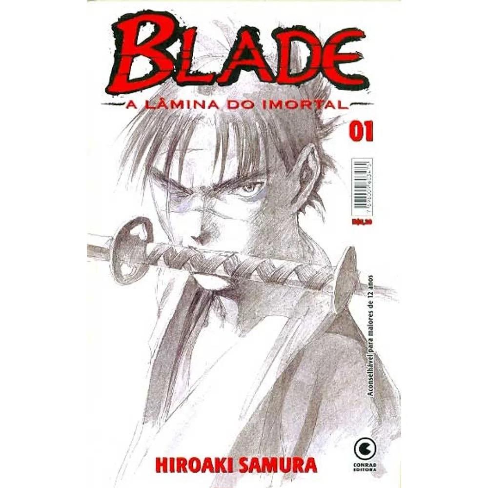 Blade A Lâmina do Imortal - 1ª Edição - Volume 01 - Usado