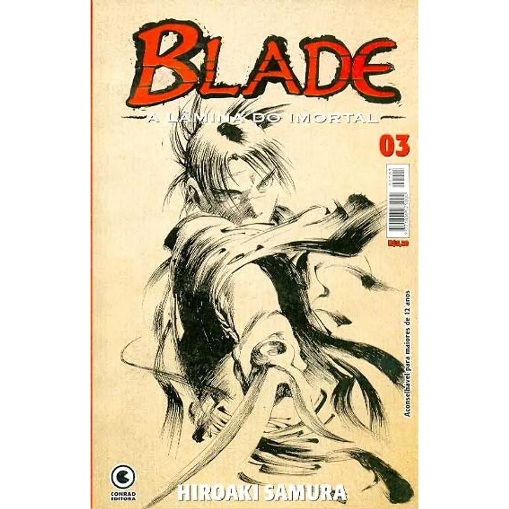 Blade A Lâmina do Imortal - 1ª Edição - Volume 03 - Usado
