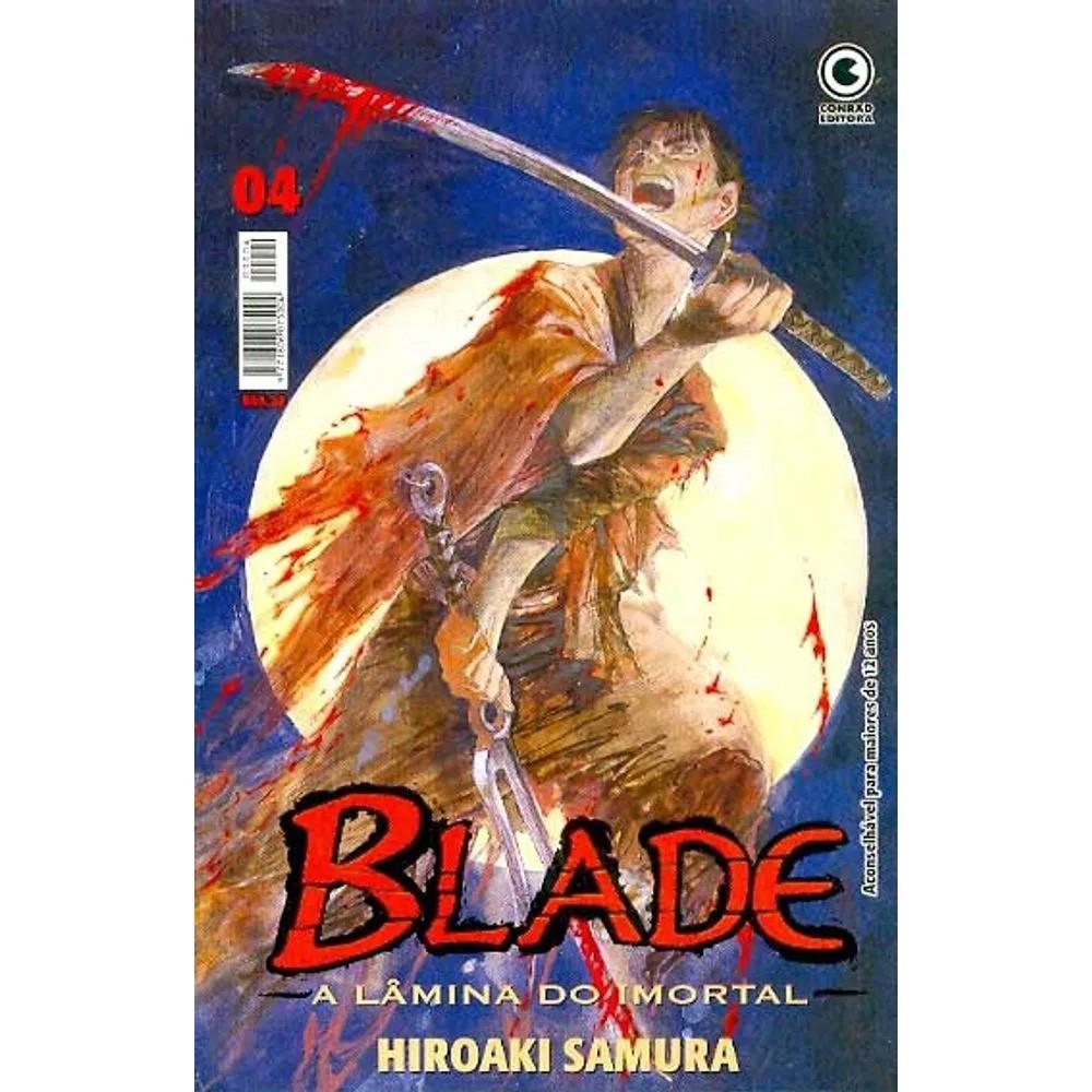 Blade A Lâmina do Imortal - 1ª Edição - Volume 04 - Usado