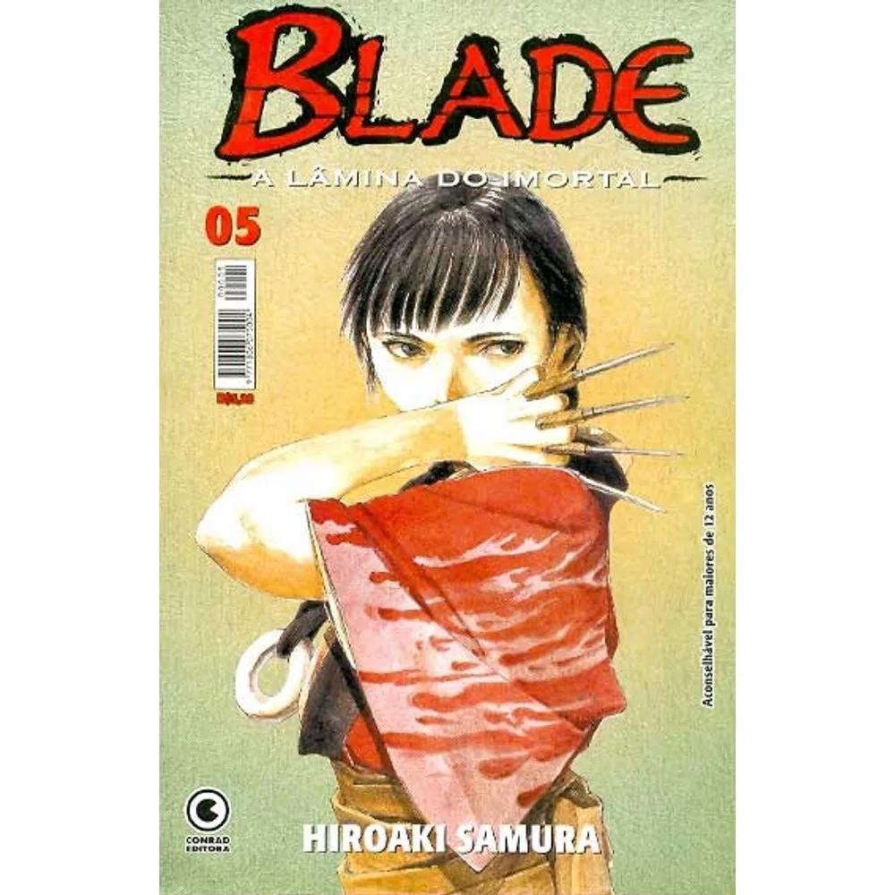 Blade A Lâmina do Imortal - 1ª Edição - Volume 05 - Usado