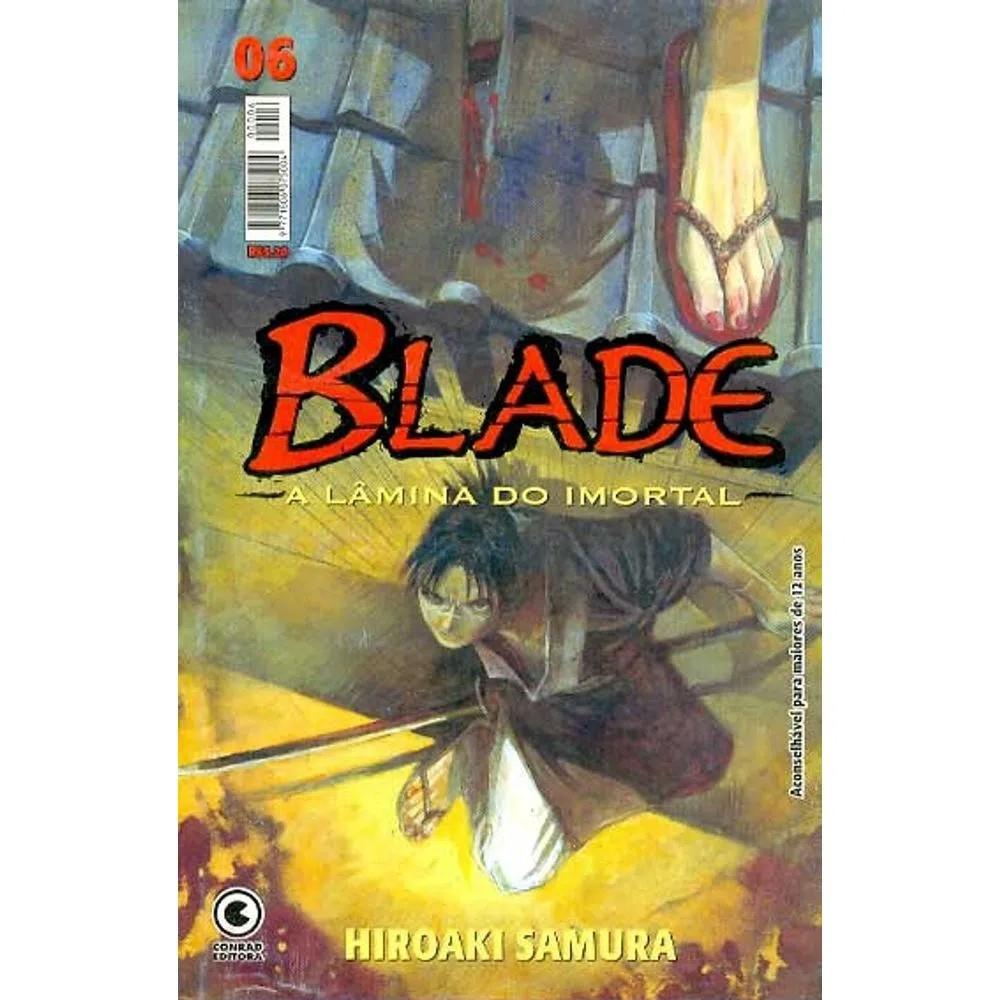 Blade A Lâmina do Imortal - 1ª Edição - Volume 06 - Usado