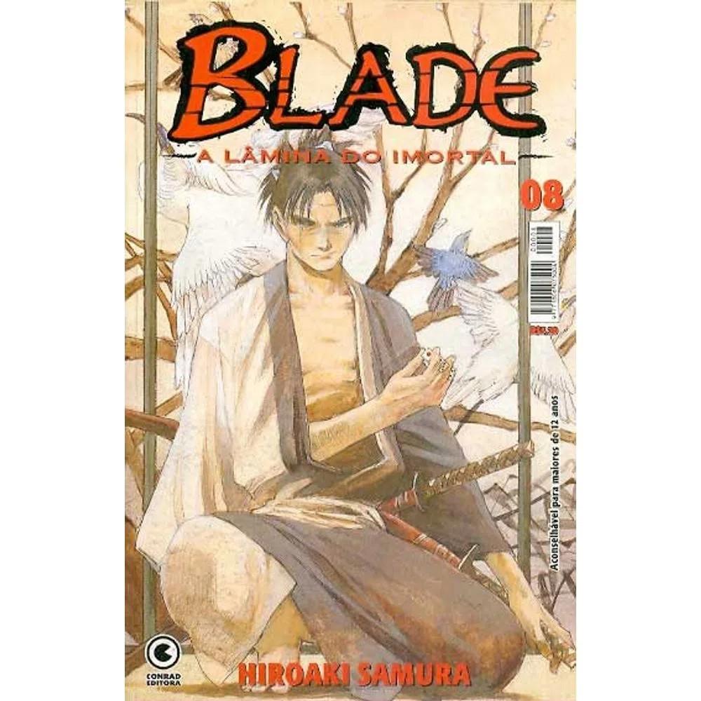 Blade A Lâmina do Imortal - 1ª Edição - Volume 08 - Usado
