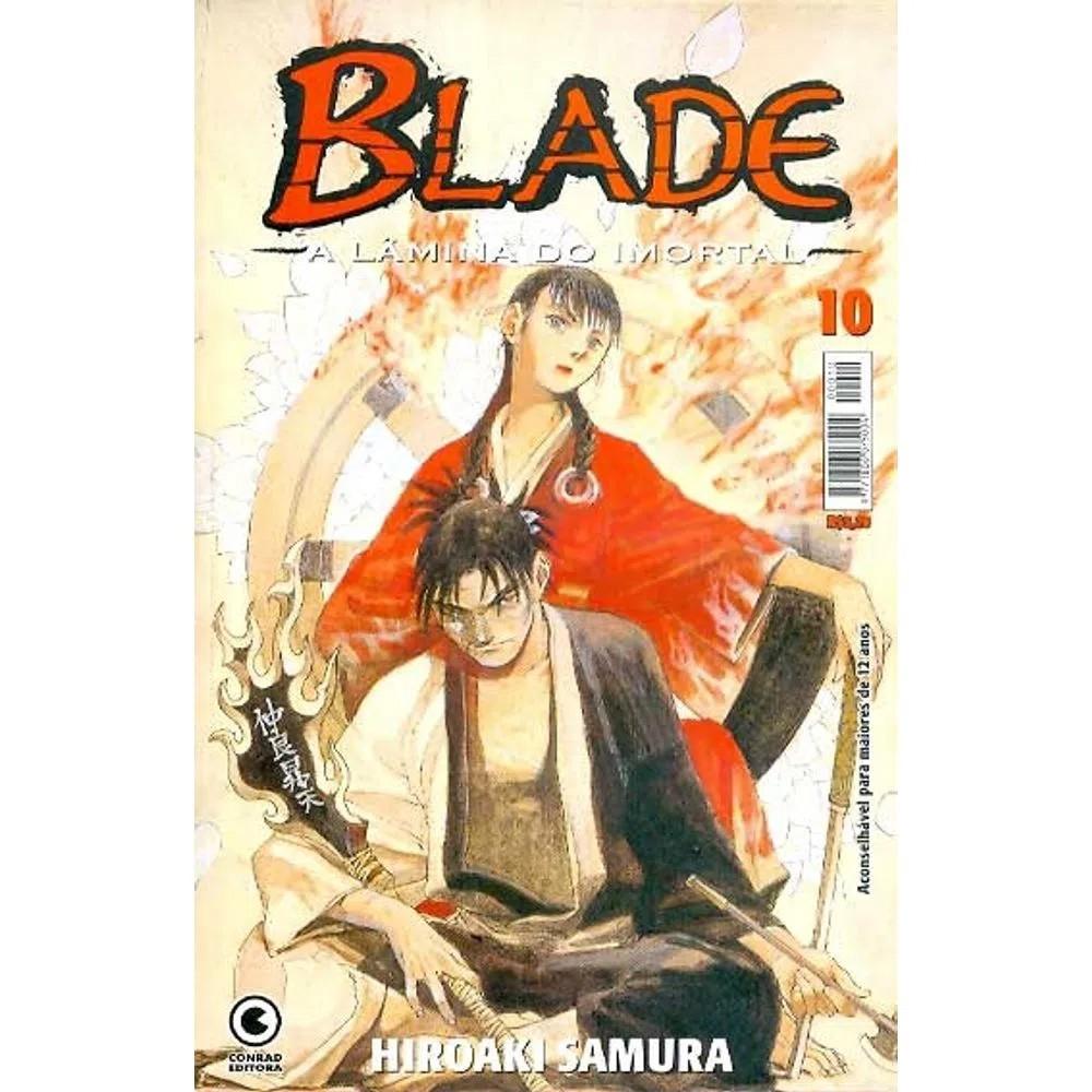 Blade A Lâmina do Imortal - 1ª Edição - Volume 10 - Usado