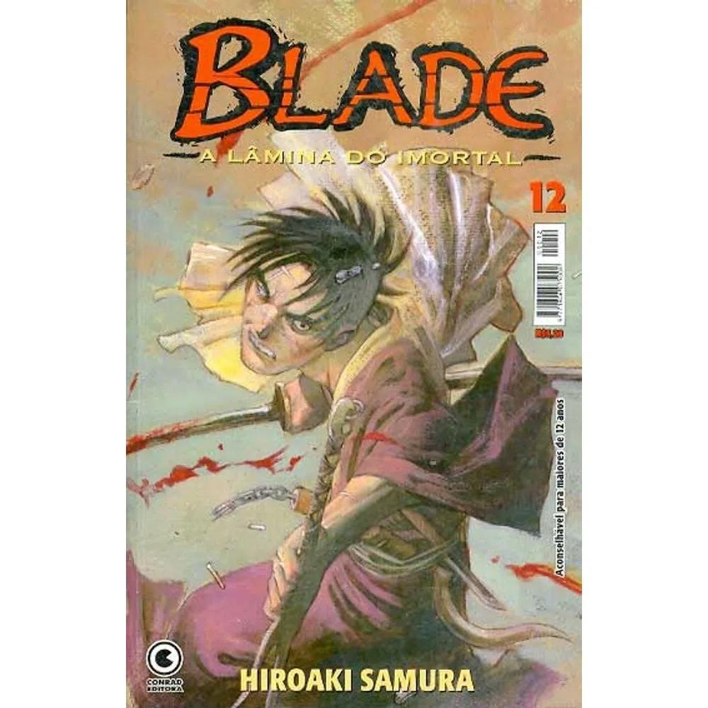 Blade A Lâmina do Imortal - 1ª Edição - Volume 12 - Usado