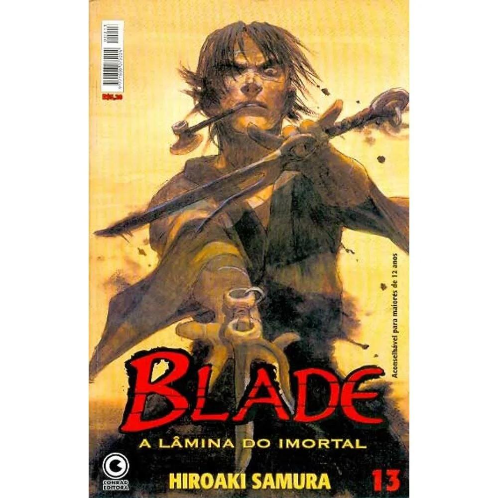 Blade A Lâmina do Imortal - 1ª Edição - Volume 13 - Usado