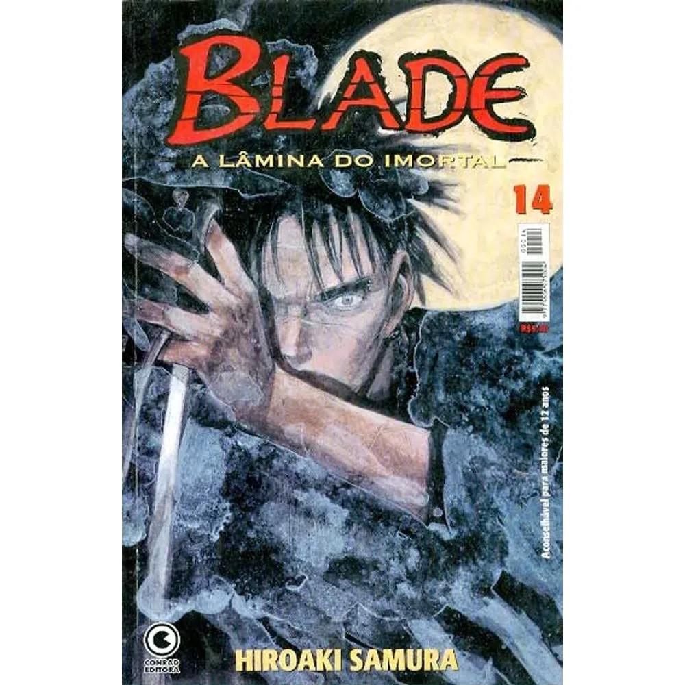 Blade A Lâmina do Imortal - 1ª Edição - Volume 14 - Usado