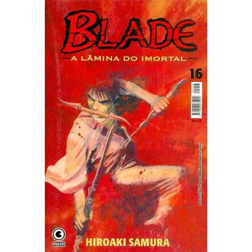 Blade A Lâmina do Imortal - 1ª Edição - Volume 16 - Usado