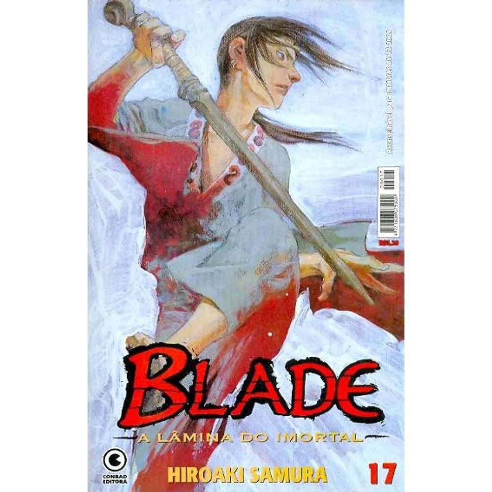 Blade A Lâmina do Imortal - 1ª Edição - Volume 17 - Usado