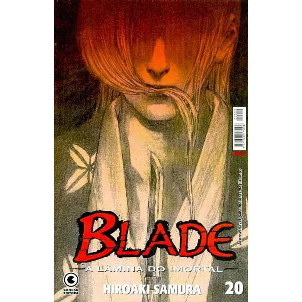 Blade A Lâmina do Imortal - 1ª Edição - Volume 20 - Usado
