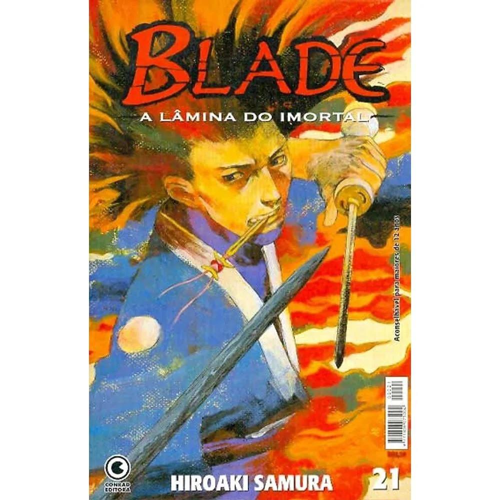 Blade A Lâmina do Imortal - 1ª Edição - Volume 21 - Usado